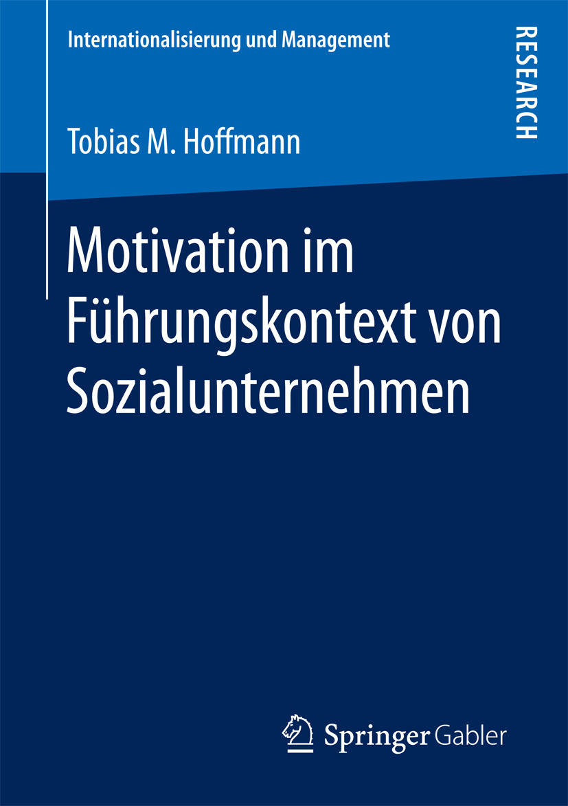 Hoffmann, Tobias M. - Motivation im Führungskontext von Sozialunternehmen, ebook