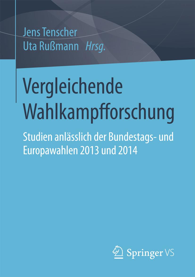 Rußmann, Uta - Vergleichende Wahlkampfforschung, ebook