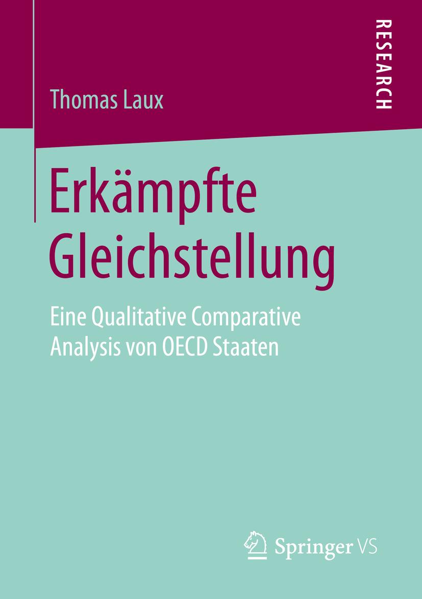 Laux, Thomas - Erkämpfte Gleichstellung, e-bok