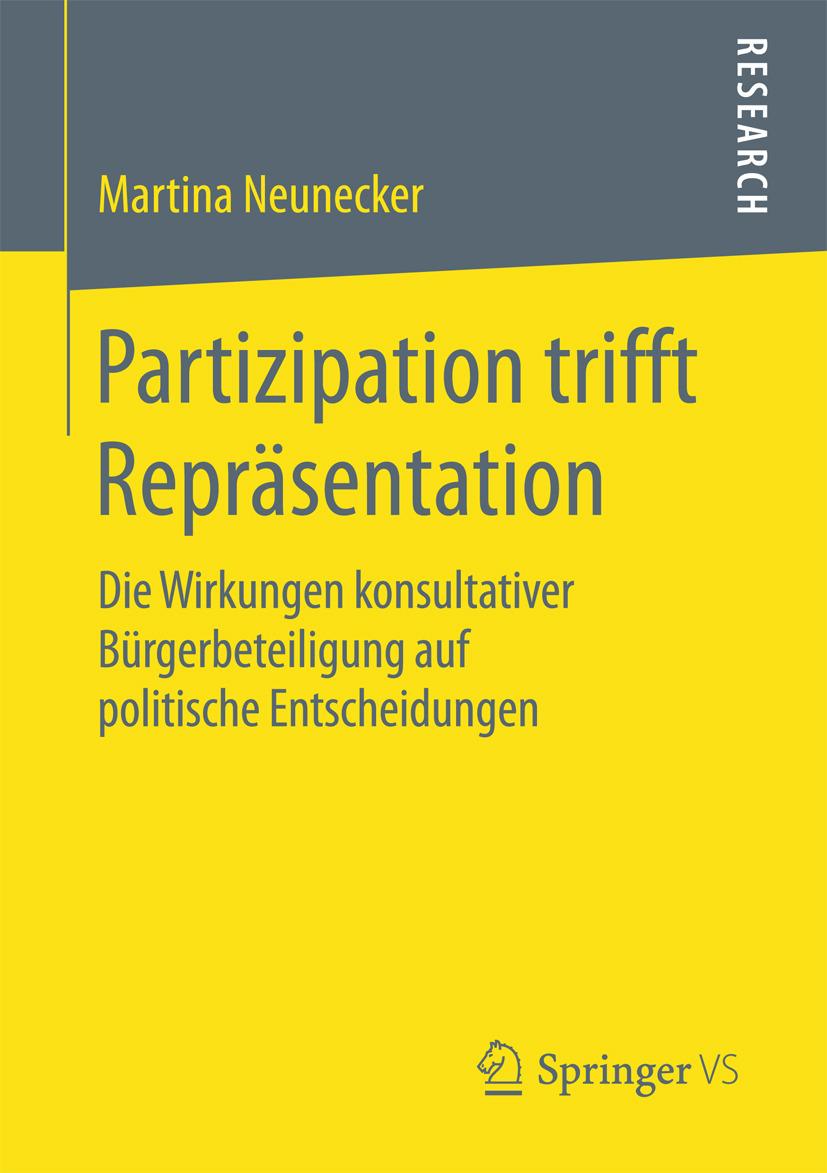 Neunecker, Martina - Partizipation trifft Repräsentation, ebook