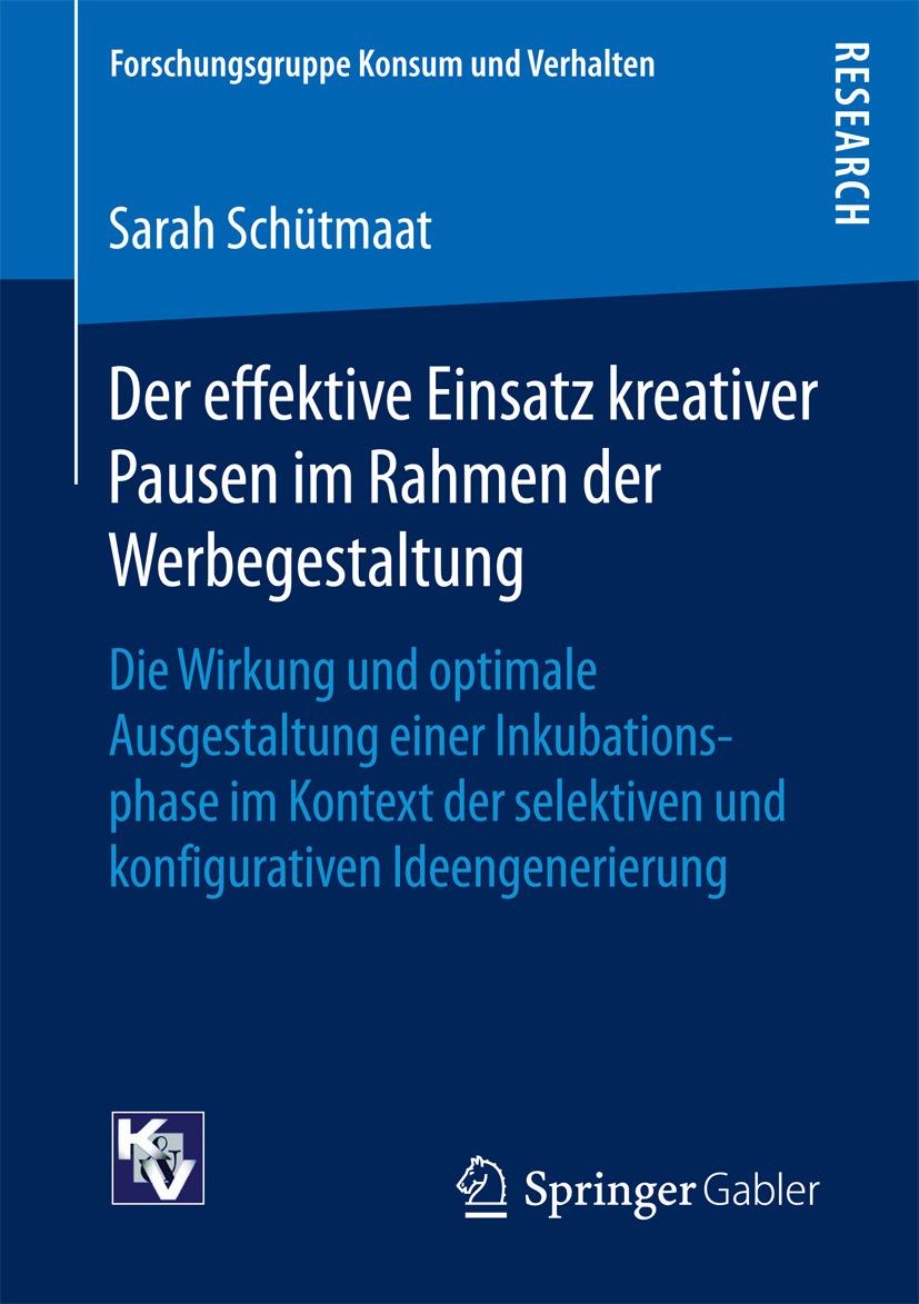 Schütmaat, Sarah - Der effektive Einsatz kreativer Pausen im Rahmen der Werbegestaltung, ebook