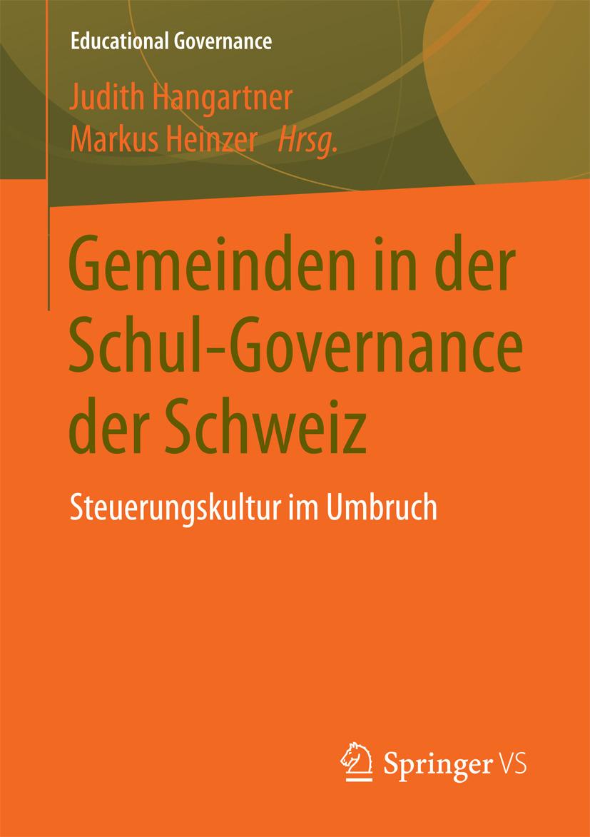 Hangartner, Judith - Gemeinden in der Schul-Governance der Schweiz, ebook