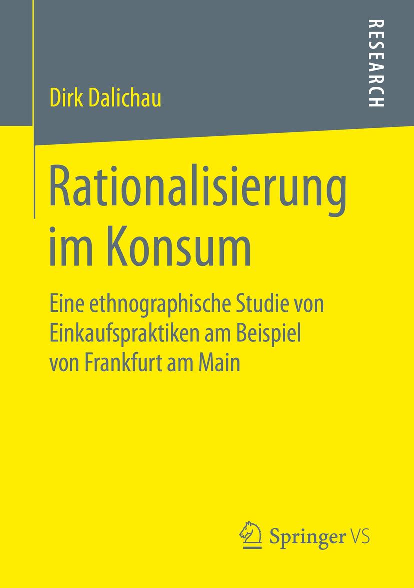 Dalichau, Dirk - Rationalisierung im Konsum, ebook