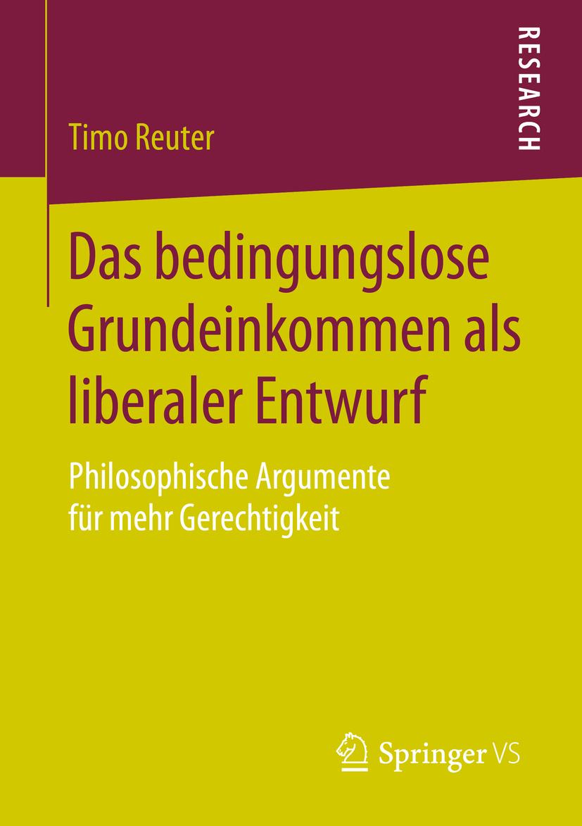 Reuter, Timo - Das bedingungslose Grundeinkommen als liberaler Entwurf, ebook