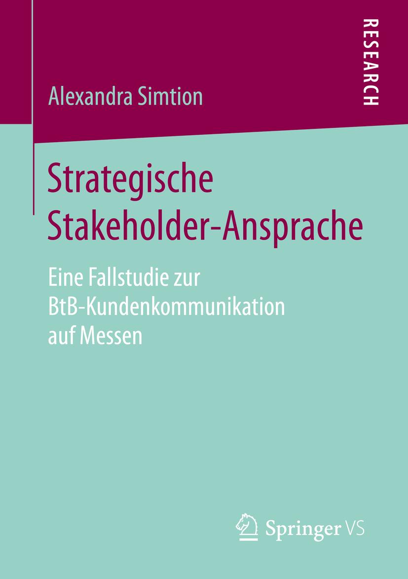 Simtion, Alexandra - Strategische Stakeholder-Ansprache, ebook