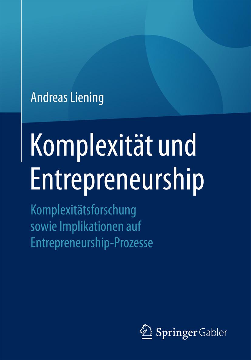 Liening, Andreas - Komplexität und Entrepreneurship, ebook