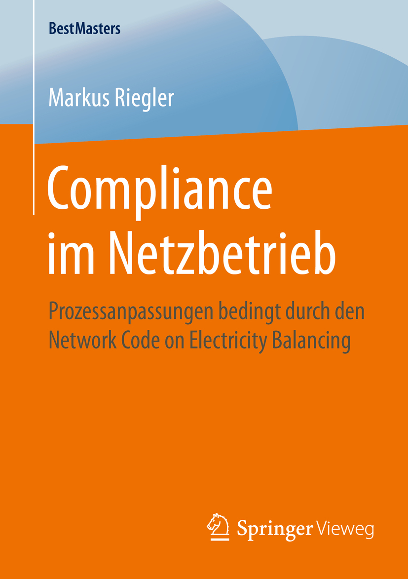 Riegler, Markus - Compliance im Netzbetrieb, ebook
