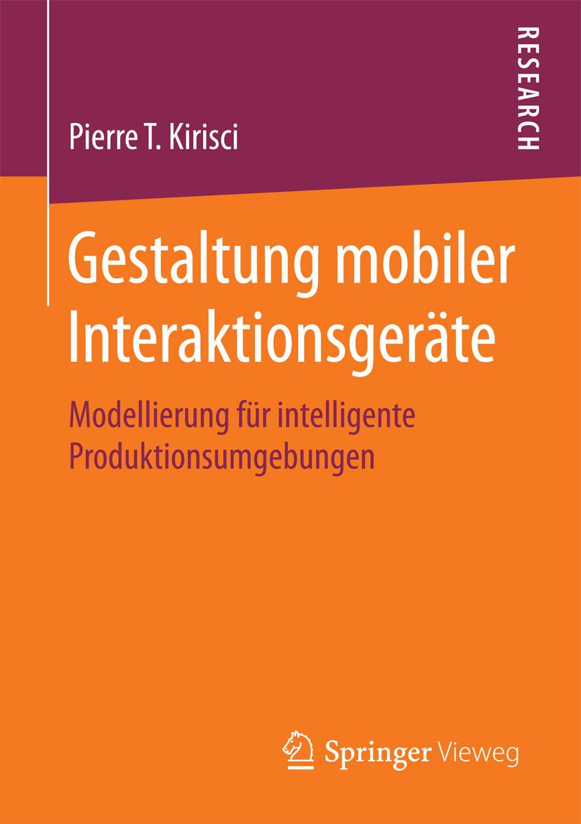Kirisci, Pierre T. - Gestaltung mobiler Interaktionsgeräte, ebook