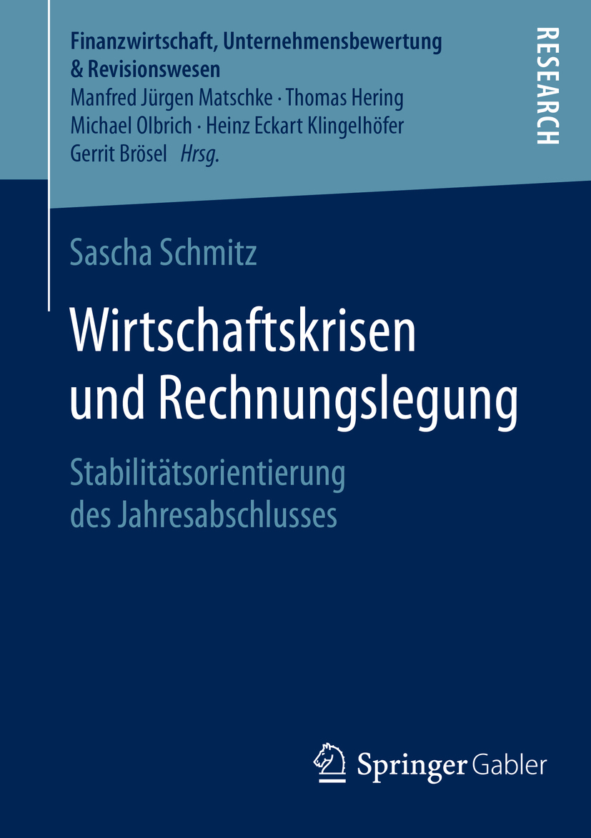 Schmitz, Sascha - Wirtschaftskrisen und Rechnungslegung, ebook