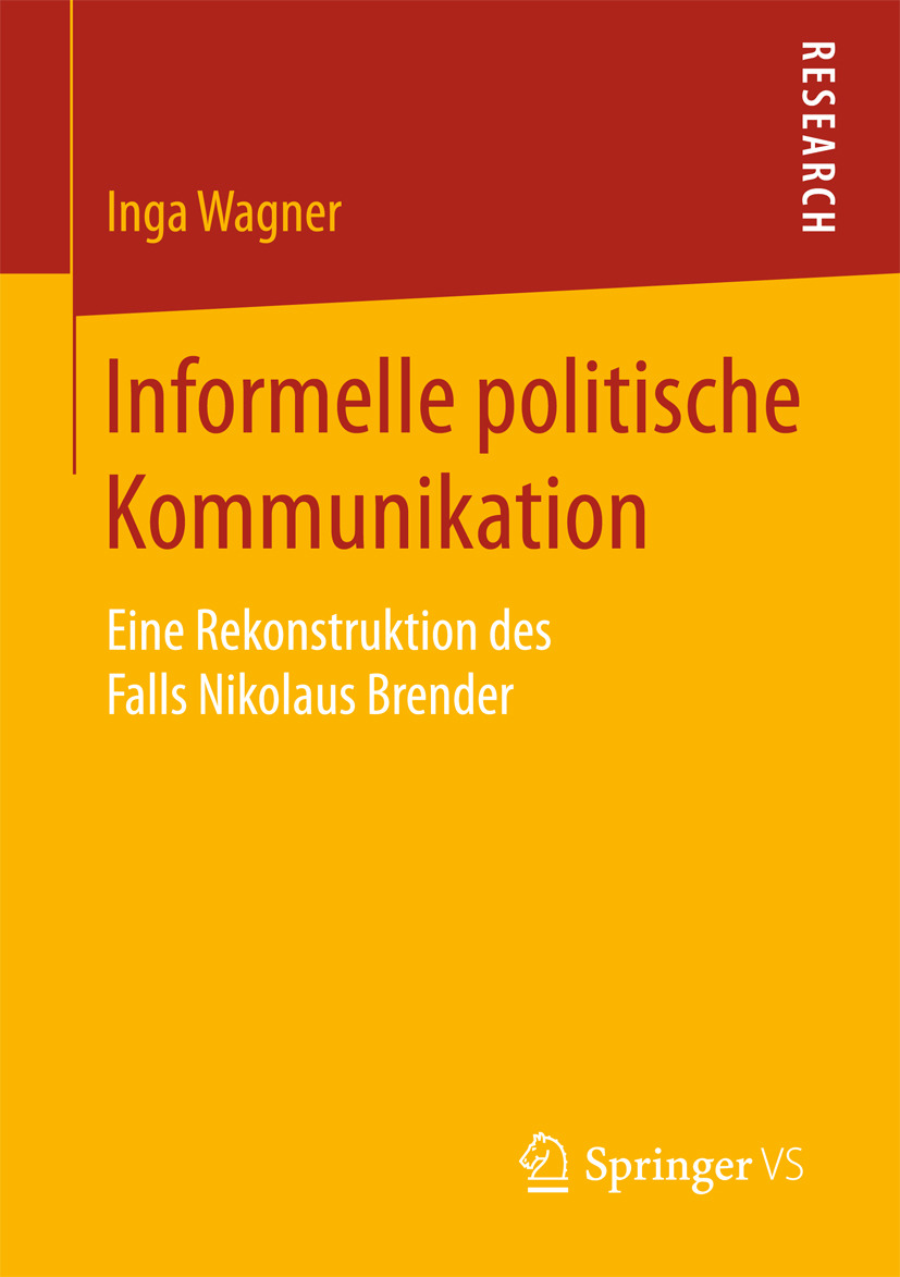 Wagner, Inga - Informelle politische Kommunikation, ebook