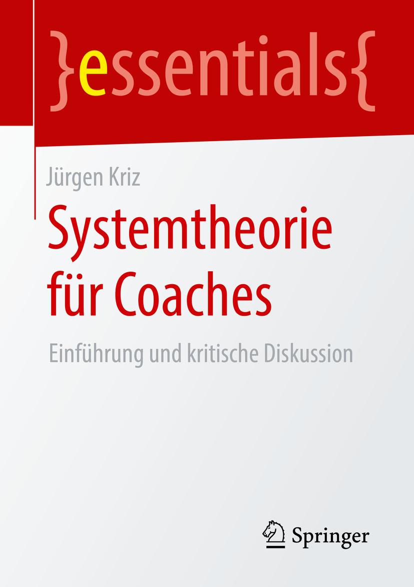 Kriz, Jürgen - Systemtheorie für Coaches, ebook