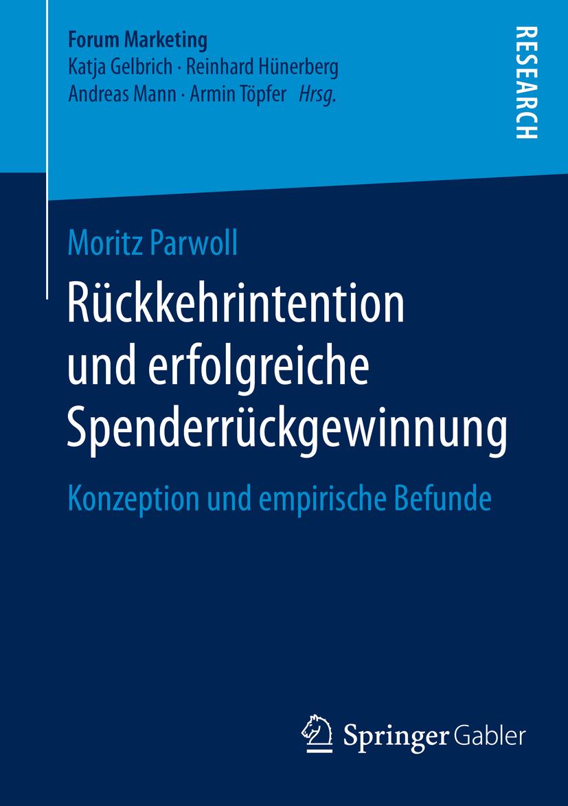 Parwoll, Moritz - Rückkehrintention und erfolgreiche Spenderrückgewinnung, ebook