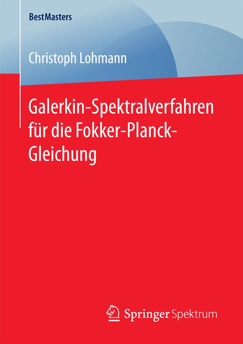 Lohmann, Christoph - Galerkin-Spektralverfahren für die Fokker-Planck-Gleichung, ebook