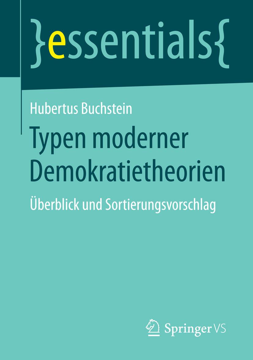 Buchstein, Hubertus - Typen moderner Demokratietheorien, ebook