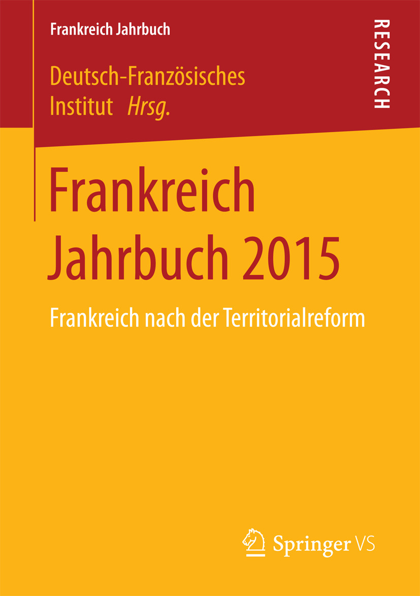 Institut, Deutsch-Französisches - Frankreich Jahrbuch 2015, ebook