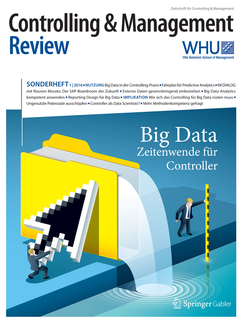 Schäffer, Utz - Controlling & Management Review Sonderheft 1-2016, ebook
