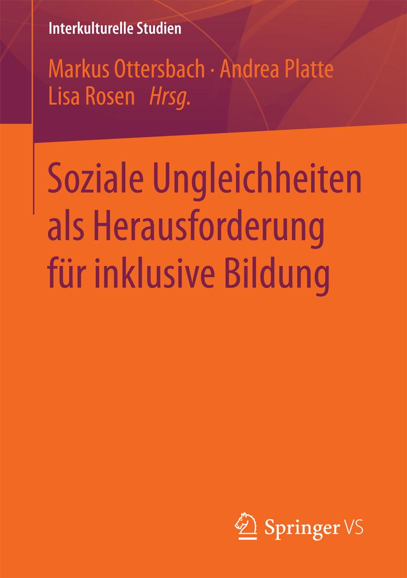 Ottersbach, Markus - Soziale Ungleichheiten als Herausforderung für inklusive Bildung, ebook