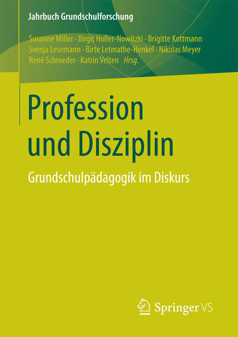 Holler-Nowitzki, Birgit - Profession und Disziplin, ebook