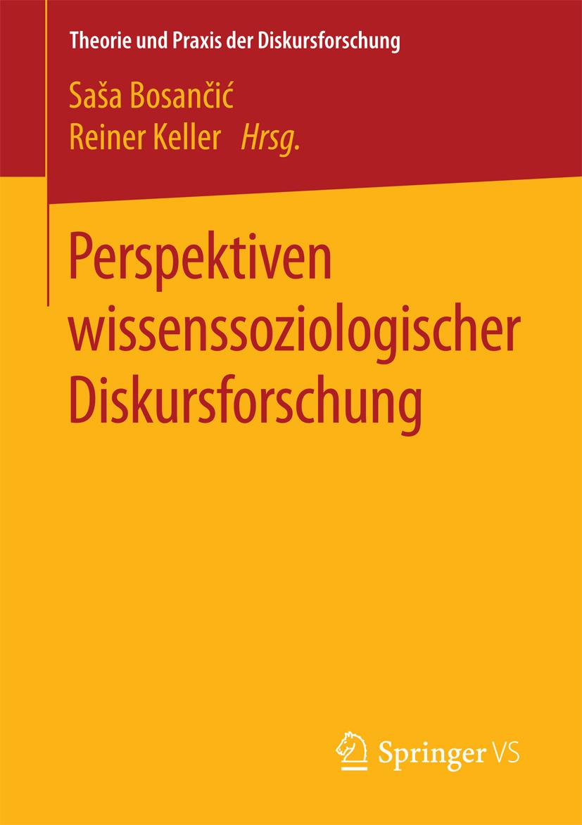 Bosančić, Saša - Perspektiven wissenssoziologischer Diskursforschung, ebook