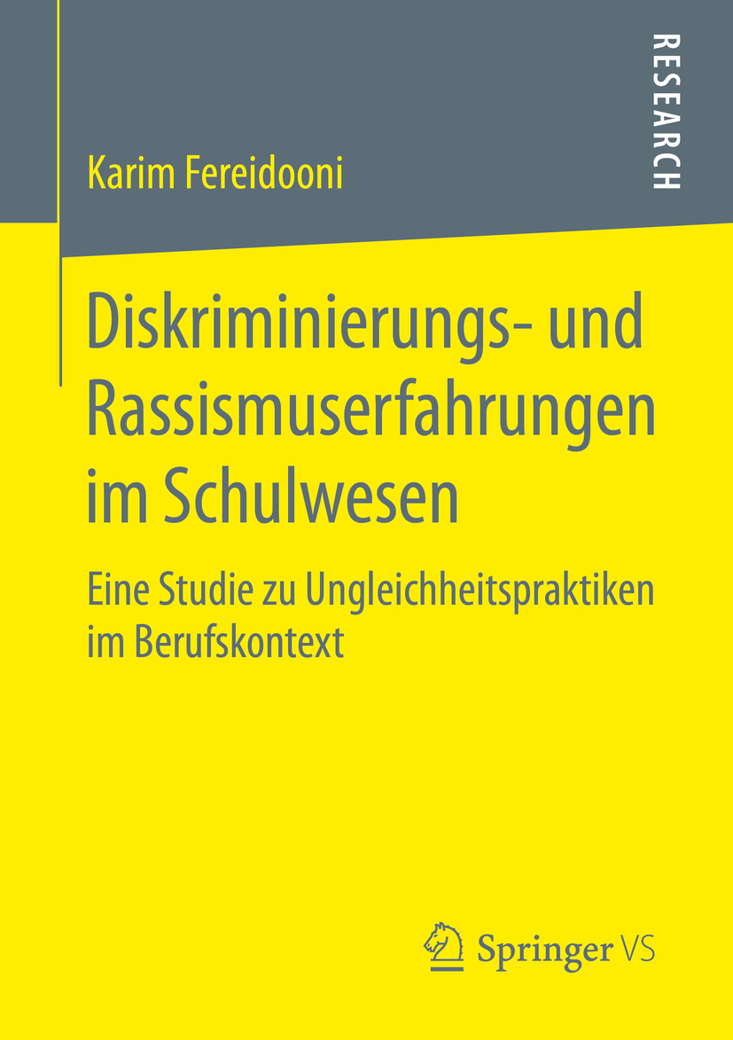 Fereidooni, Karim - Diskriminierungs- und Rassismuserfahrungen im Schulwesen, ebook