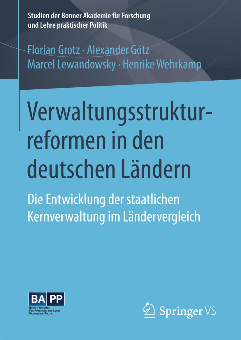 Grotz, Florian - Verwaltungsstrukturreformen in den deutschen Ländern, ebook