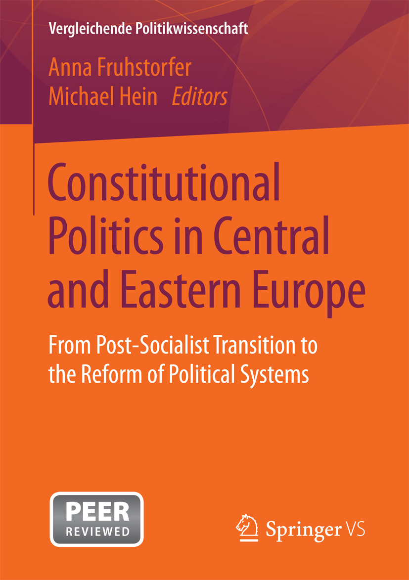 Fruhstorfer, Anna - Constitutional Politics in Central and Eastern Europe, e-bok