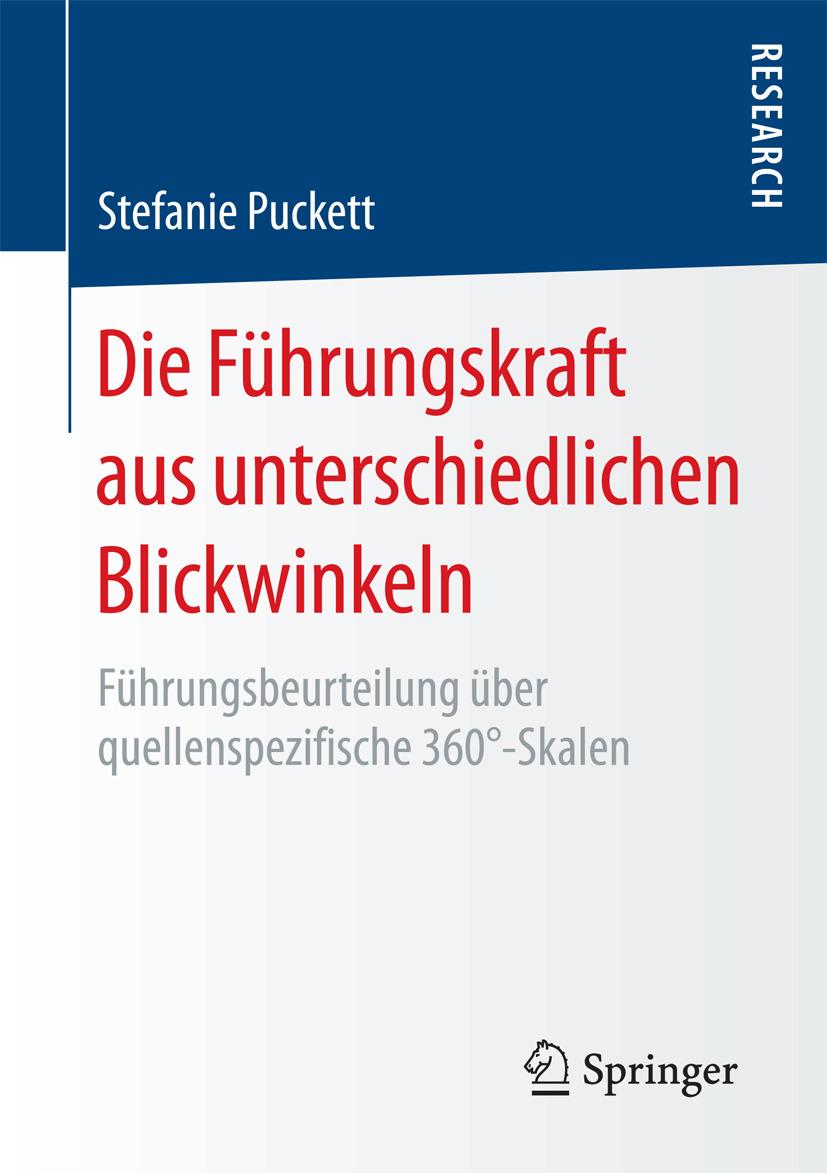 Puckett, Stefanie - Die Führungskraft aus unterschiedlichen Blickwinkeln, ebook
