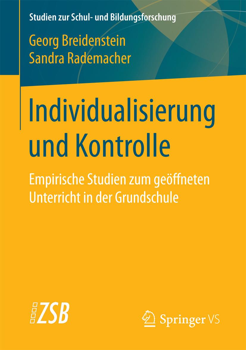 Breidenstein, Georg - Individualisierung und Kontrolle, e-kirja