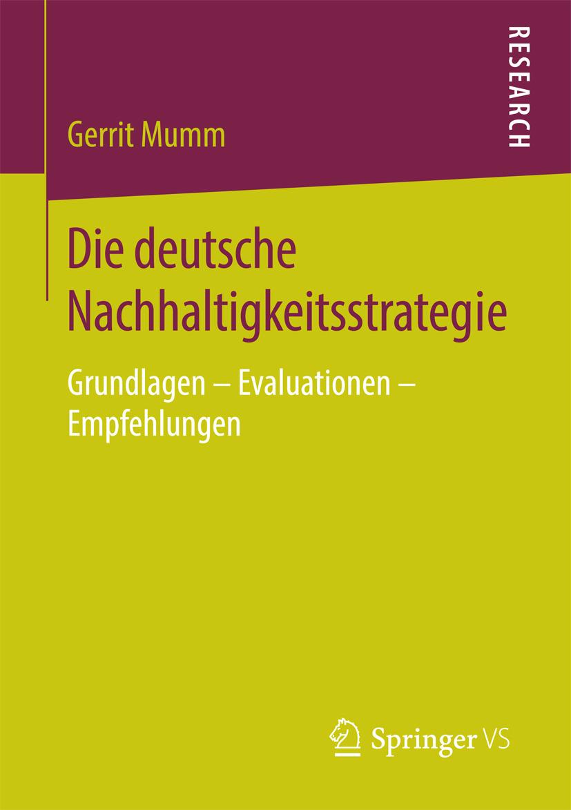 Mumm, Gerrit - Die deutsche Nachhaltigkeitsstrategie, ebook