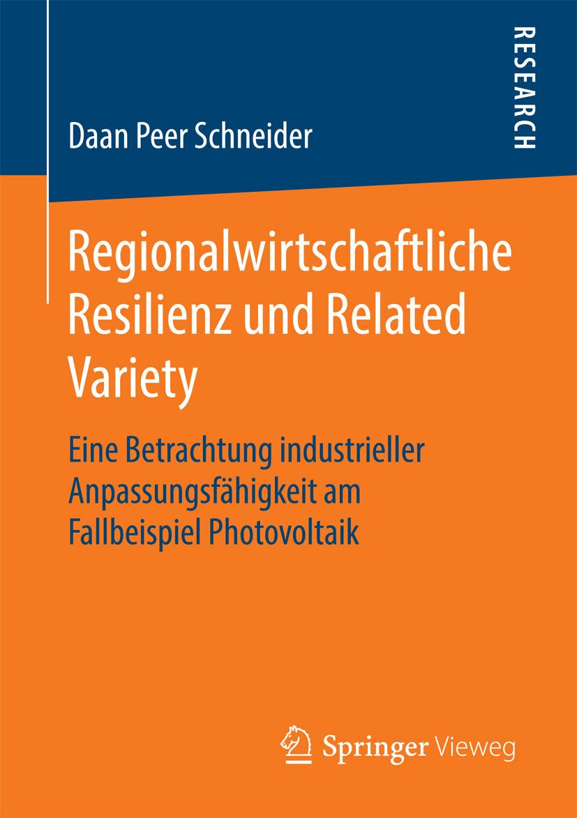 Schneider, Daan Peer - Regionalwirtschaftliche Resilienz und Related Variety, ebook