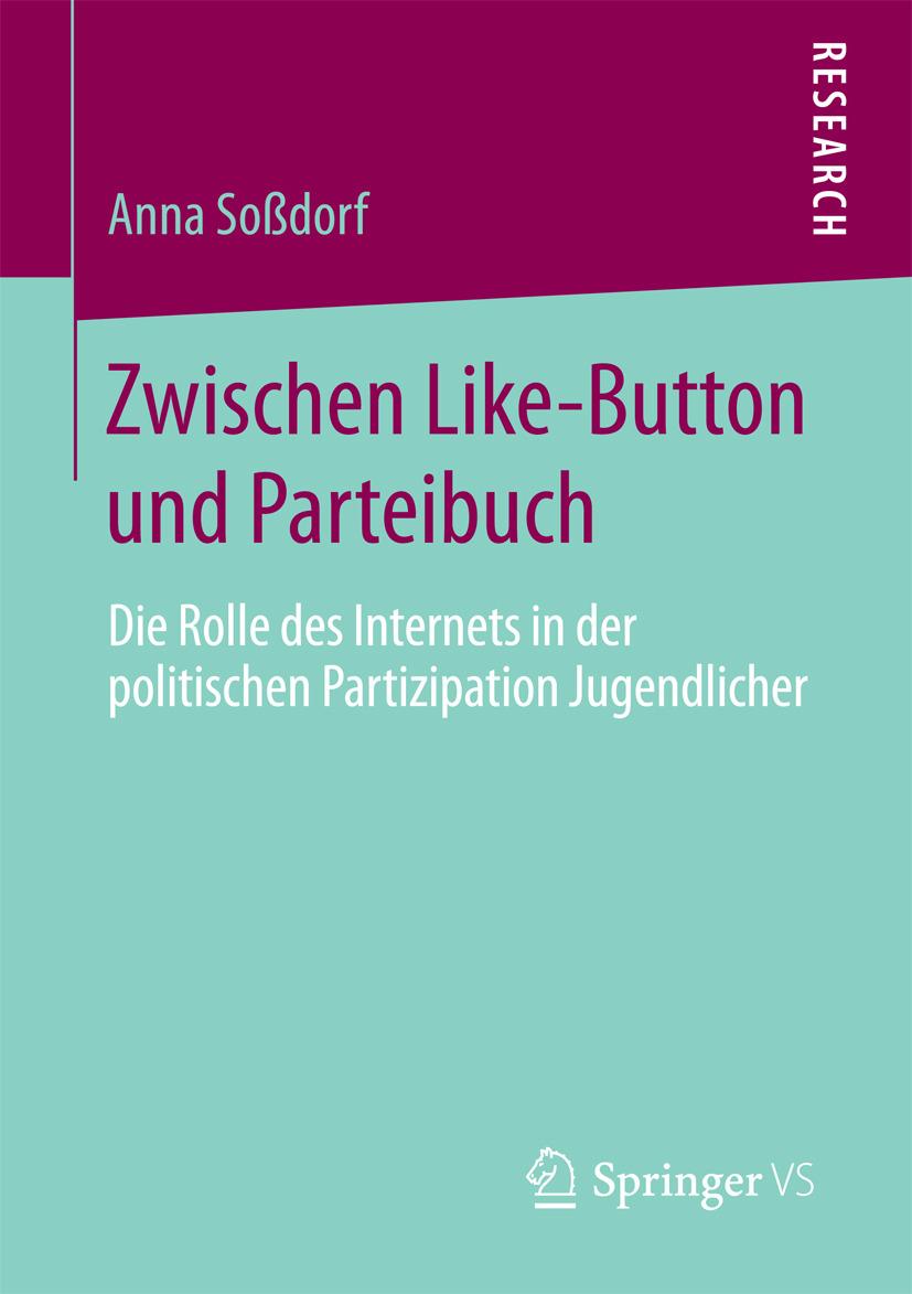 Soßdorf, Anna - Zwischen Like-Button und Parteibuch, ebook