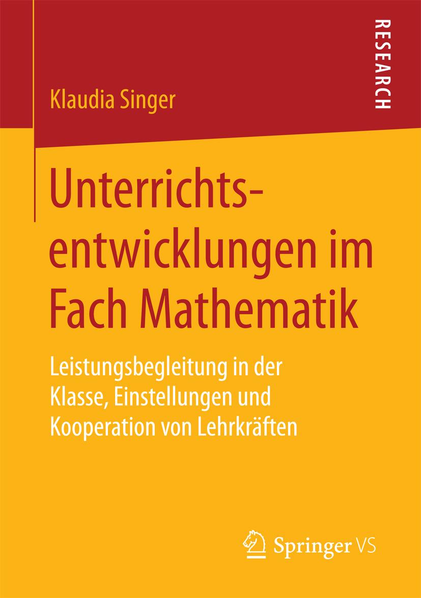 Singer, Klaudia - Unterrichtsentwicklungen im Fach Mathematik, ebook