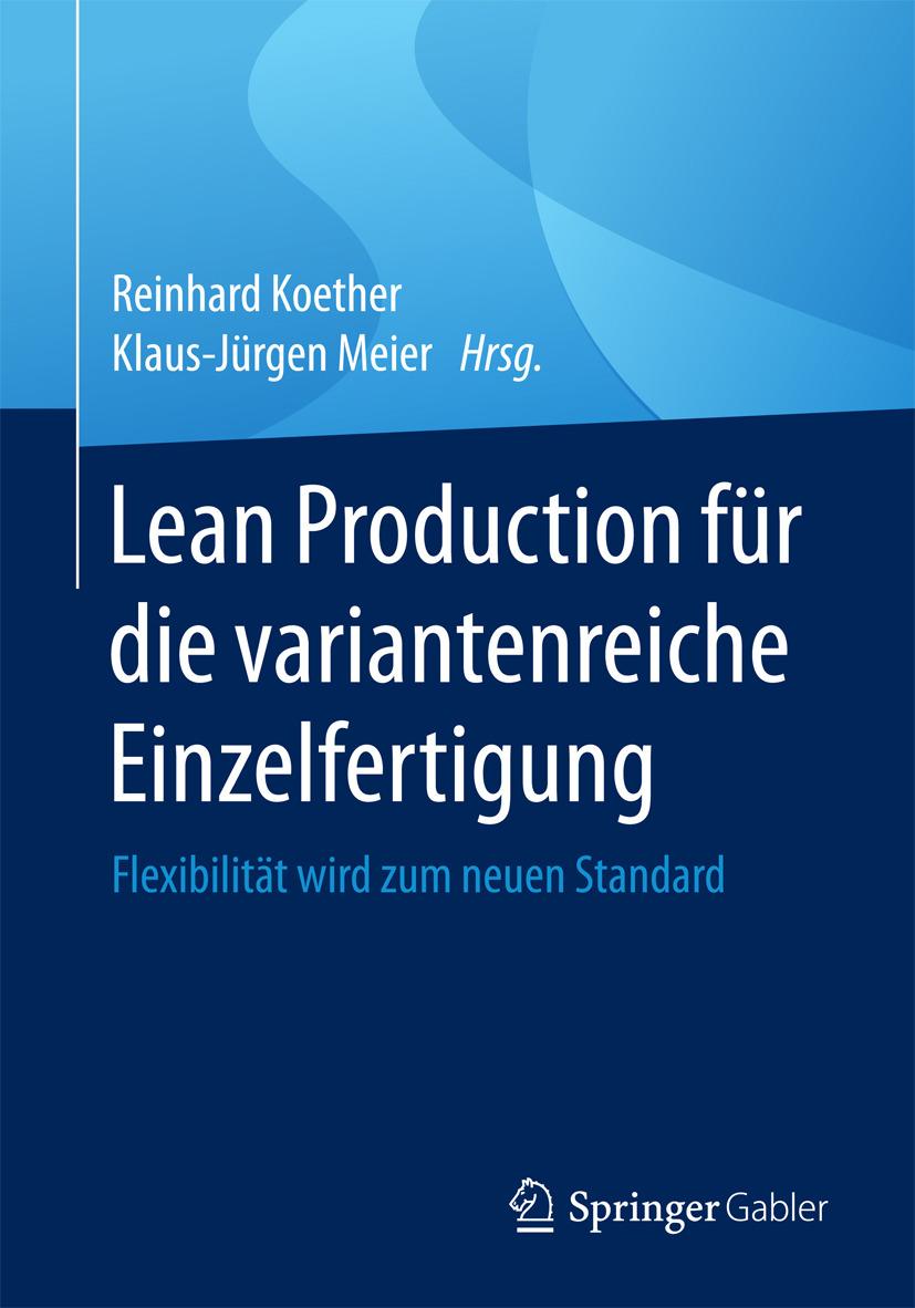 Koether, Reinhard - Lean Production für die variantenreiche Einzelfertigung, ebook