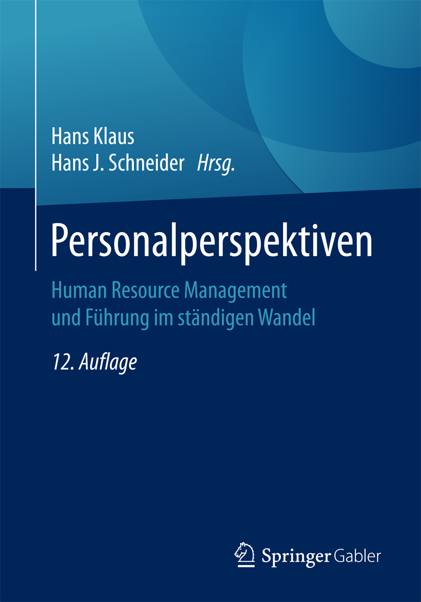 Klaus, Hans - Personalperspektiven, ebook