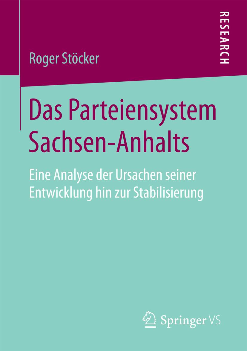 Stöcker, Roger - Das Parteiensystem Sachsen-Anhalts, ebook