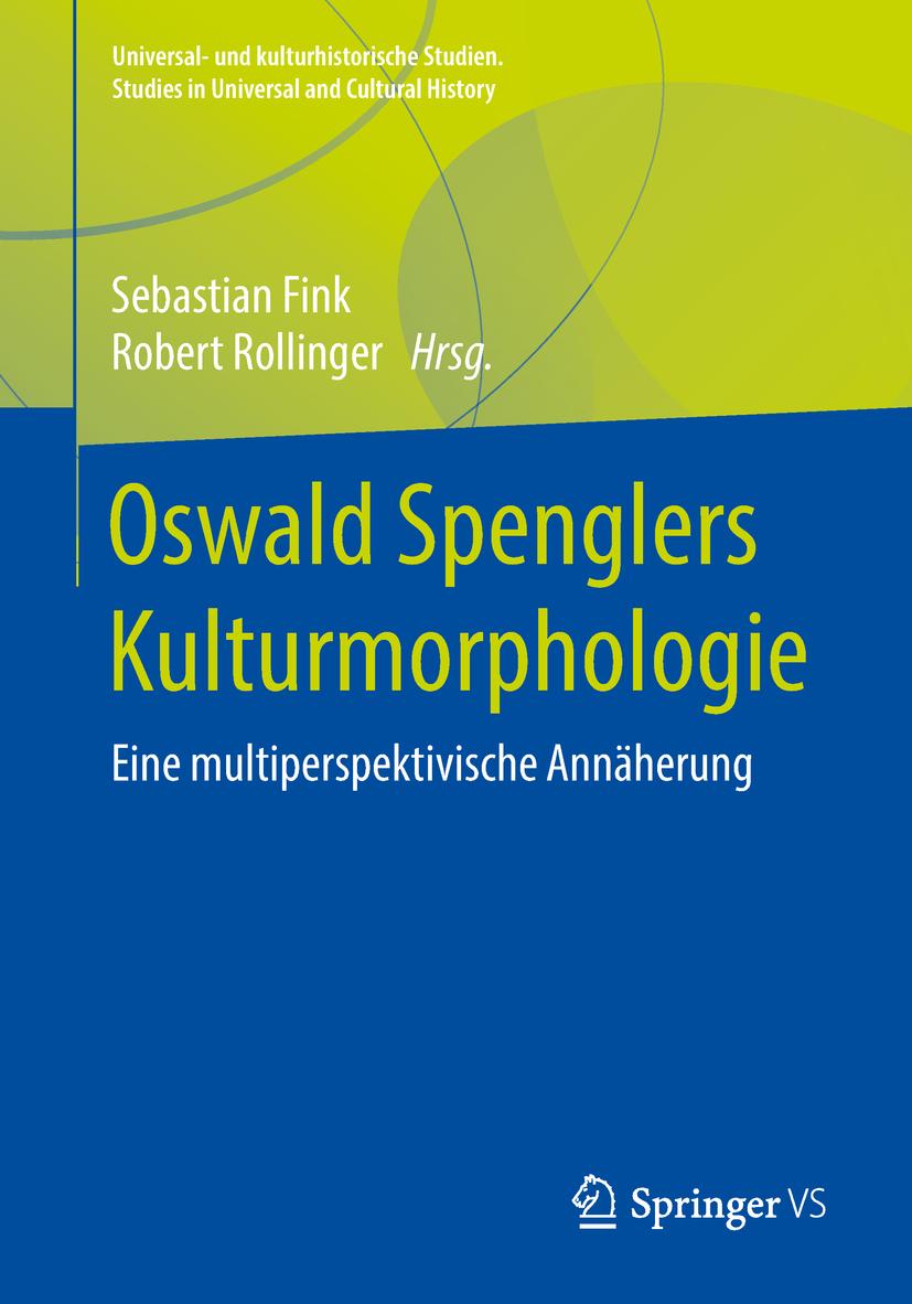 Fink, Sebastian - Oswald Spenglers Kulturmorphologie, ebook