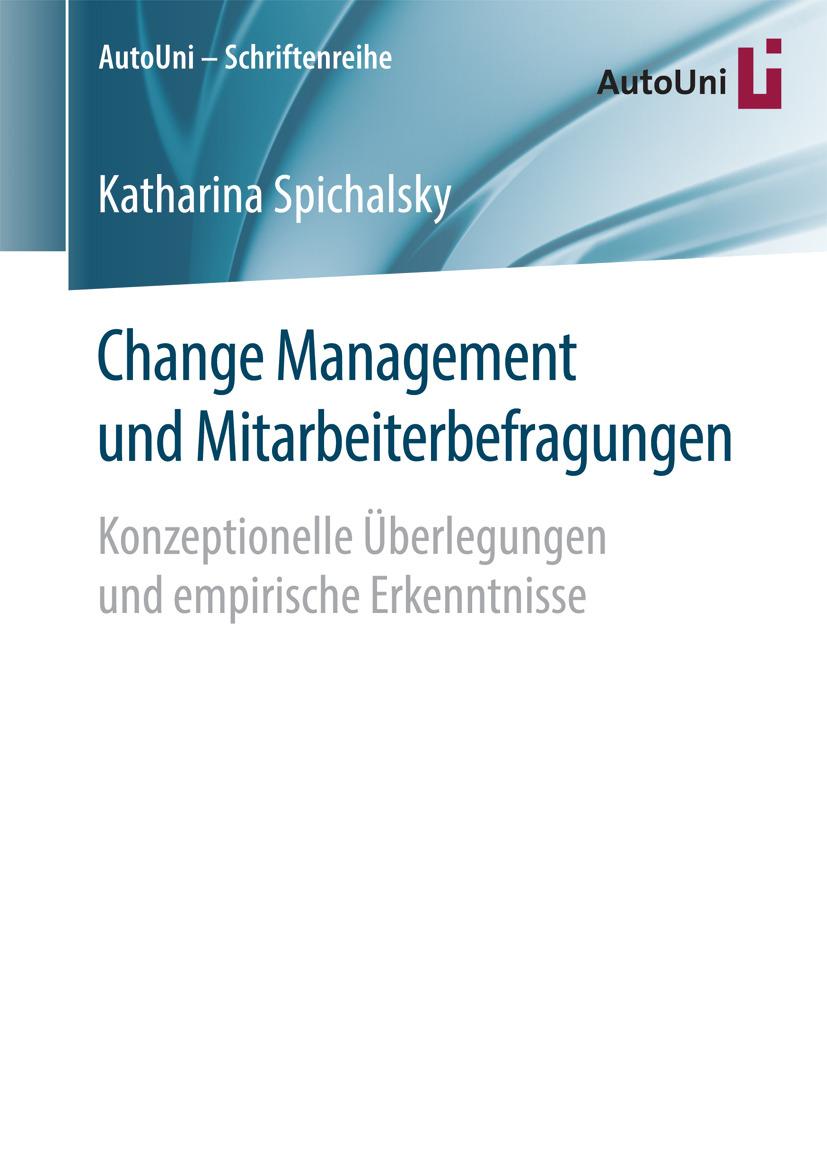 Spichalsky, Katharina - Change Management und Mitarbeiterbefragungen, ebook