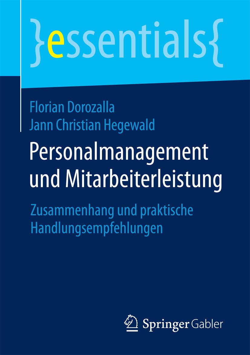 Dorozalla, Florian - Personalmanagement und Mitarbeiterleistung, ebook