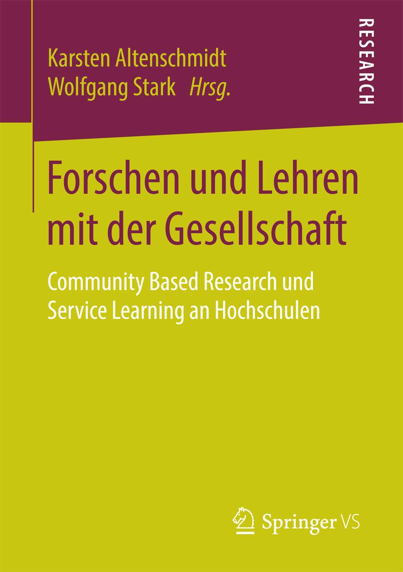 Altenschmidt, Karsten - Forschen und Lehren mit der Gesellschaft, ebook