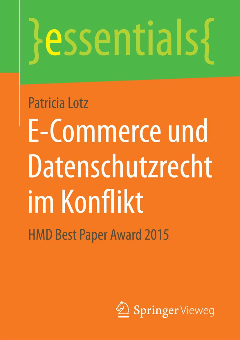 Lotz, Patricia - E-Commerce und Datenschutzrecht im Konflikt, e-kirja