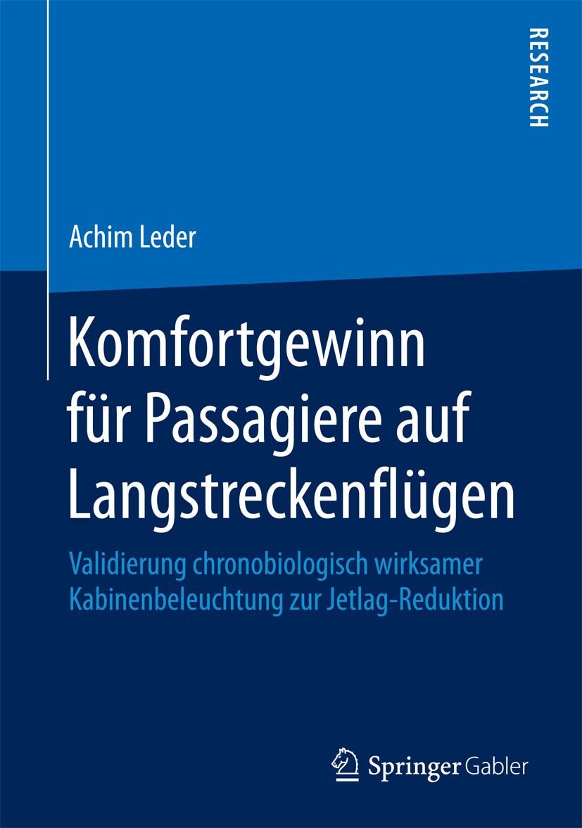 Leder, Achim - Komfortgewinn für Passagiere auf Langstreckenflügen, ebook