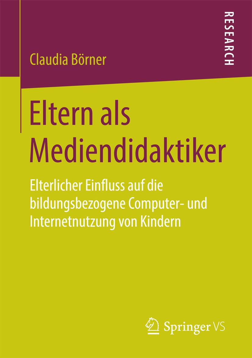 Börner, Claudia - Eltern als Mediendidaktiker, ebook