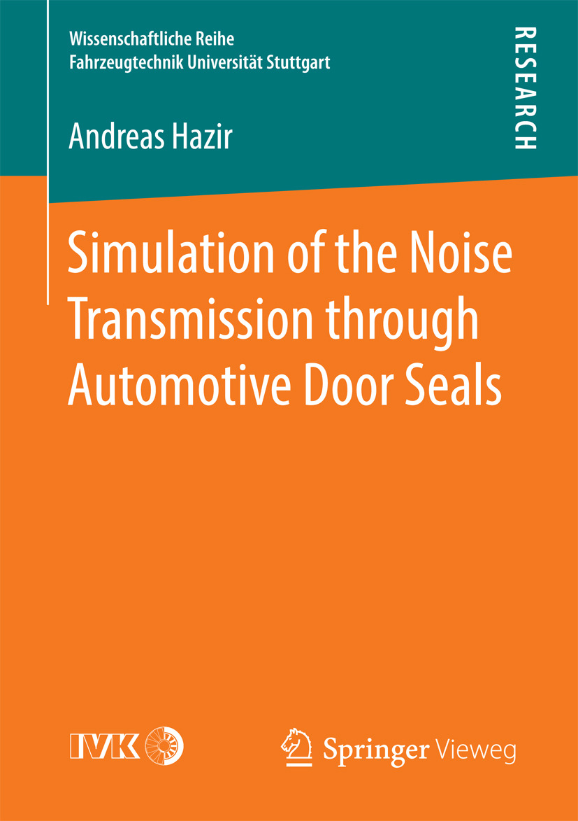 Hazir, Andreas - Simulation of the Noise Transmission through Automotive Door Seals, ebook