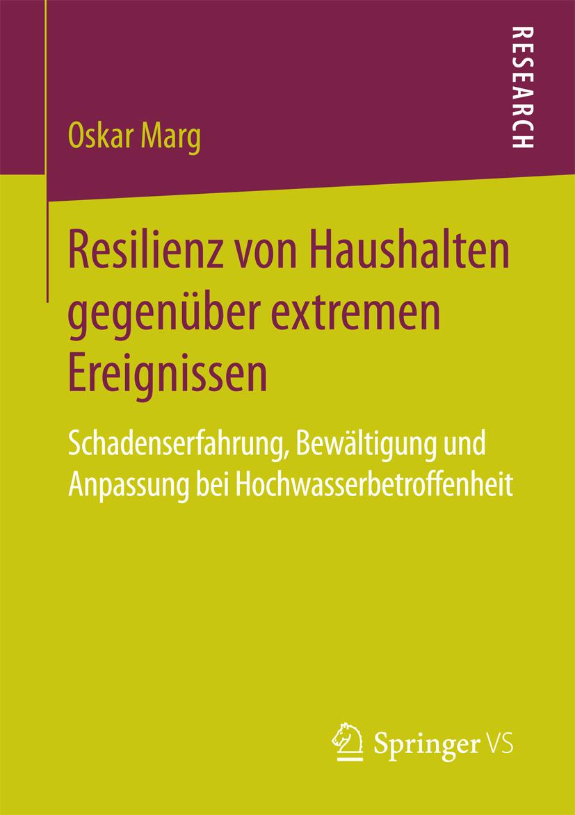 Marg, Oskar - Resilienz von Haushalten gegenüber extremen Ereignissen, e-bok