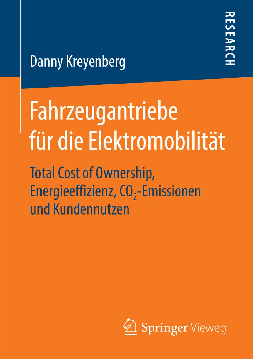 Kreyenberg, Danny - Fahrzeugantriebe für die Elektromobilität, ebook