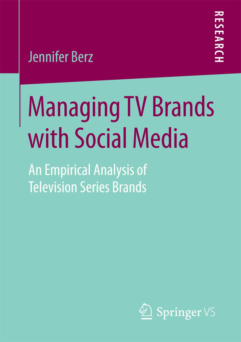 Berz, Jennifer - Managing TV Brands with Social Media, ebook