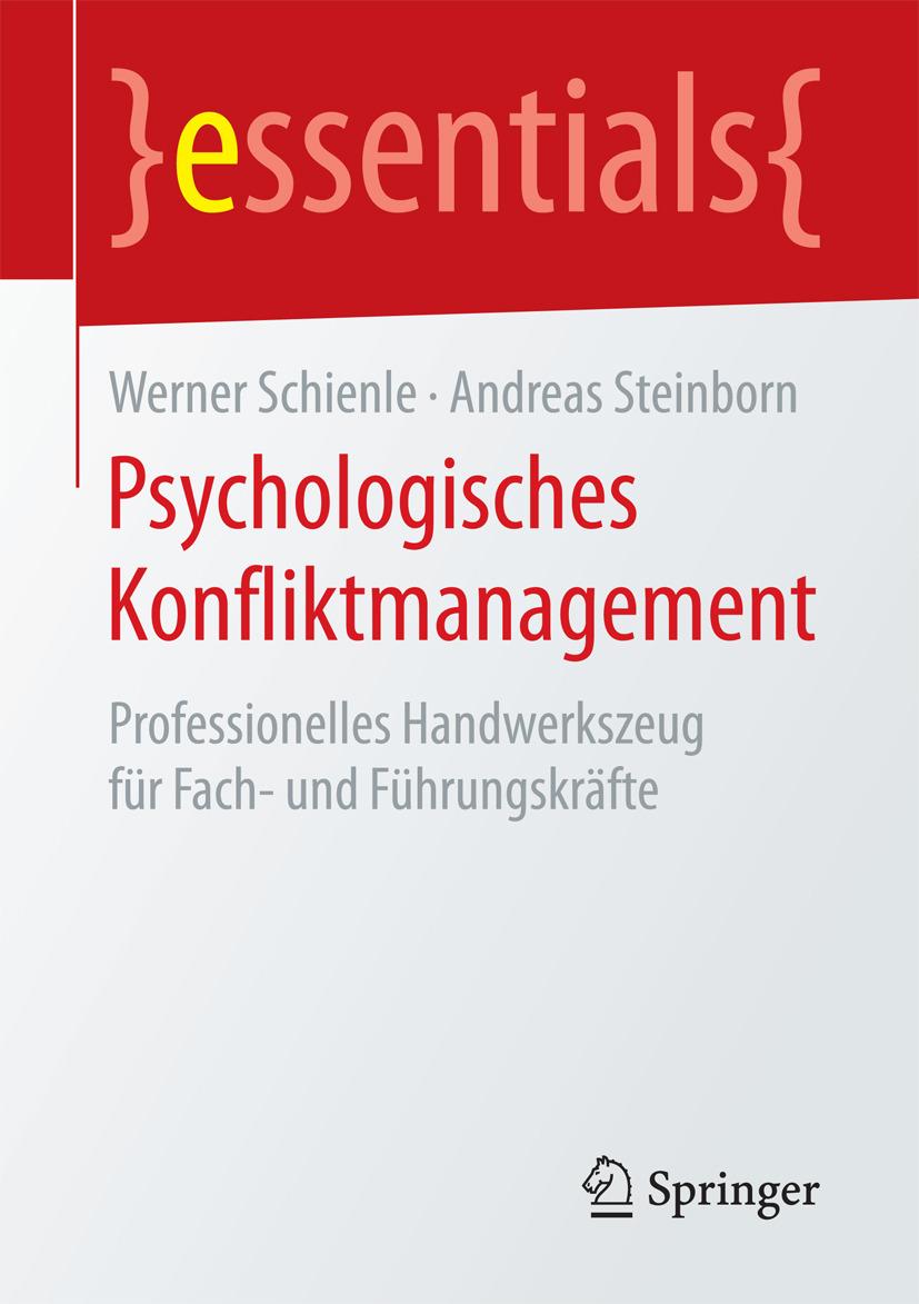 Schienle, Werner - Psychologisches Konfliktmanagement, ebook