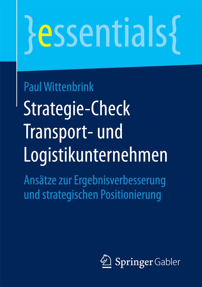 Wittenbrink, Paul - Strategie-Check Transport- und Logistikunternehmen, ebook
