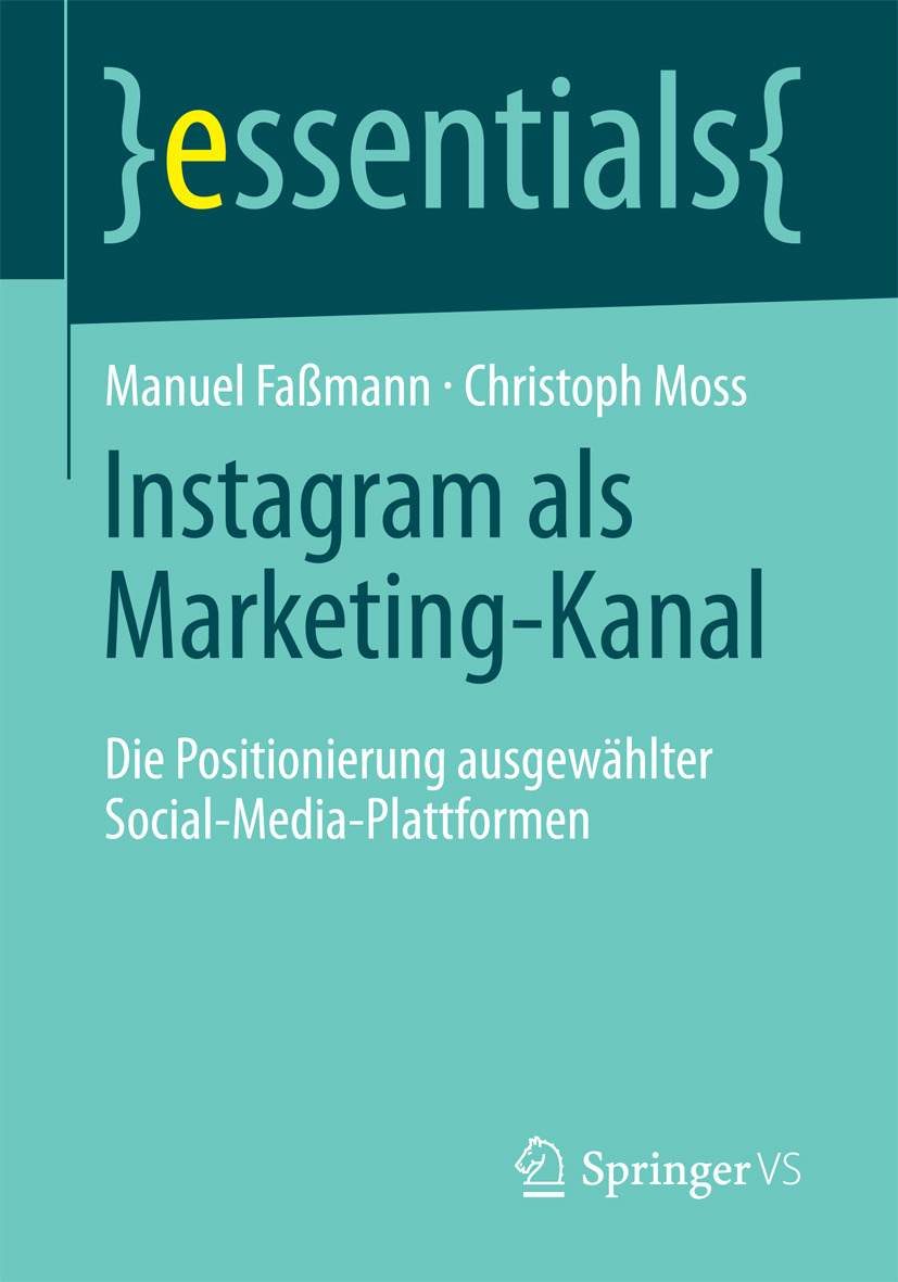 Faßmann, Manuel - Instagram als Marketing-Kanal, ebook