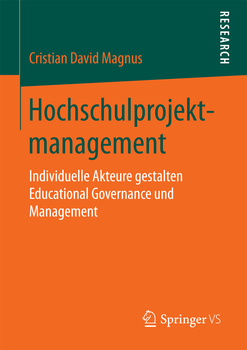 Magnus, Cristian David - Hochschulprojektmanagement, ebook